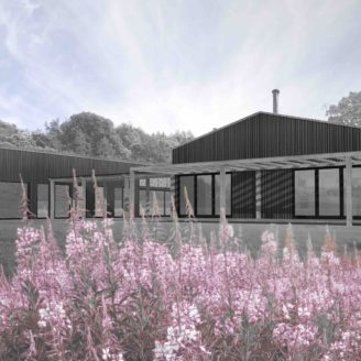Conversion of an agricultural building to create a family house in Dilwyn, Herefordshire